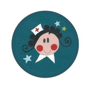 badge infirmiere calvados